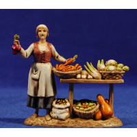 Vendedora de verduras 8 cm plástico Moranduzzo - Landi estilo 700