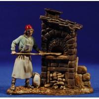 Panadero con horno 8 cm plástico Moranduzzo - Landi estilo 700