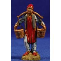 Pastor con cubos de agua 10 cm plástico Moranduzzo - Landi estilo 700