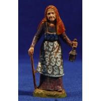 Pastora con farol 10 cm plástico Moranduzzo - Landi estilo 700