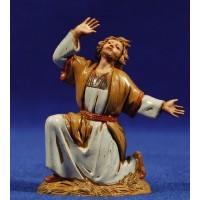 Pastor maravillado 10 cm plástico Moranduzzo - Landi estilo ebraico