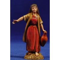 Pastora con ánfora 10 cm plástico Moranduzzo - Landi estilo ebraico