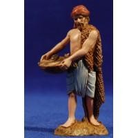 Pescador de pie 10 cm plástico Moranduzzo - Landi estilo ebraico