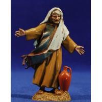 Pastor con ánfora 10 cm plástico Moranduzzo - Landi estilo ebraico
