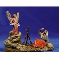 Anunciata 10 cm plástico Moranduzzo - Landi estilo ebraico
