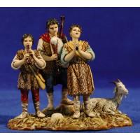 Grupo músicos 10 cm plástico Moranduzzo - Landi estilo 700