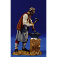 Pastor herrero 12-13 cm plástico Moranduzzo - Landi
