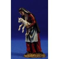 Pastora con cabrito 12-13  cm plástico Moranduzzo - Landi estilo 700