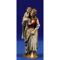 Pastora con niño en brazos 12-13  cm plástico Moranduzzo - Landi estilo 700