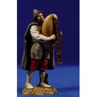 Gaitero músico 12-13  cm plástico Moranduzzo - Landi estilo 700