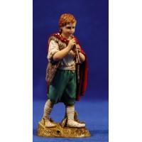 Niño flautista músico de pie 12-13  cm plástico Moranduzzo - Landi estilo 700