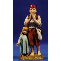 Niños 12-13  cm plástico Moranduzzo - Landi estilo 700