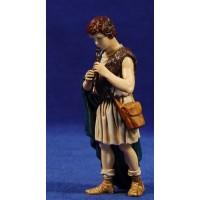 Pastor músico con flauta 12-13  cm plástico Moranduzzo - Landi estilo ebraico