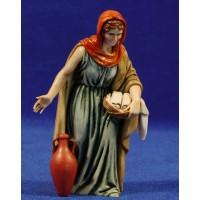 Pastora con ánfora 12-13  cm plástico Moranduzzo - Landi estilo ebraico