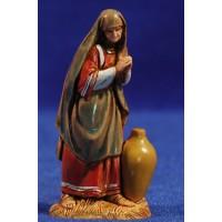 Pastora adorando con anfora 6,5 cm plástico Moranduzzo - Landi estilo ebraico