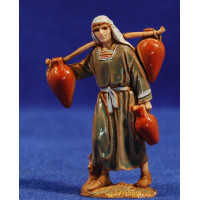 Pastor con cubos de agua 6,5 cm plástico Moranduzzo - Landi estilo ebraico
