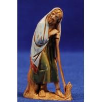 Pastor apoyado 6,5 cm plástico Moranduzzo - Landi estilo ebraico