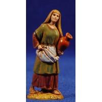 Pastora con anfora 6,5 cm plástico Moranduzzo - Landi estilo ebraico