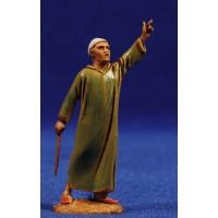 Pastor señalando 6,5 cm plástico Moranduzzo - Landi estilo ebraico