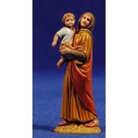 Pastora adorando 6,5 cm plástico Moranduzzo - Landi estilo ebraico
