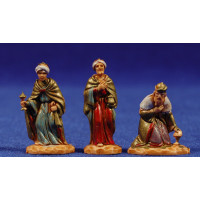 Reyes adorando 3,5 cm plástico Moranduzzo - Landi