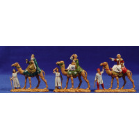 Reyes a camello con pajes 3,5 cm plástico Moranduzzo - Landi