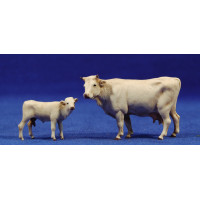 Grupo 2 vacas 8 cm plástico Moranduzzo - Landi
