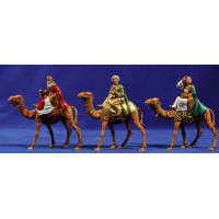 Reyes a camello 8 cm plástico Moranduzzo - Landi