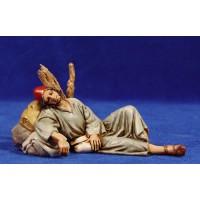 Pastor durmiendo 12-13  cm plástico Moranduzzo - Landi