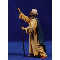 Pastor señalando 12-13  cm plástico Moranduzzo - Landi estilo ebraico