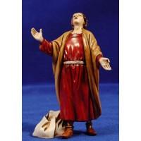 Pastor maravillado 12-13  cm plástico Moranduzzo - Landi estilo ebraico
