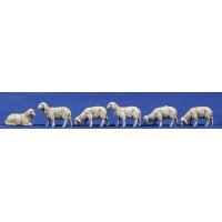 Grupo corderos 6'5 cm plástico Moranduzzo - Landi