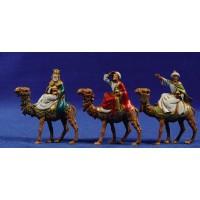 Reyes a camello 6,5 cm plástico Moranduzzo - Landi