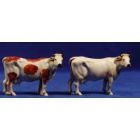 Grupo 2 vacas 10 cm plástico Moranduzzo - Landi