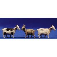 Conjunto tres cabras 10 cm plástico Moranduzzo - Landi