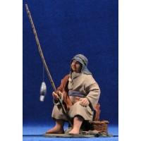 Pescador 14 cm resina Montserrat Ribes