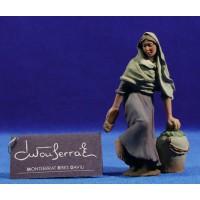 Pastora alpargatas 12 cm resina Montserrat Ribes