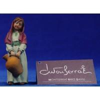 Niña con jarra 12 cm resina Montserrat Ribes