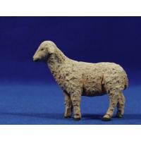 Cordero cabeza arriba 19-21 cm resina Montserrat Ribes
