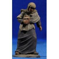 Pastora con jarra 9 cm resina Montserrat Ribes