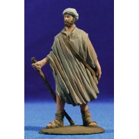 Pastor con bastón  9 cm resina Montserrat Ribes