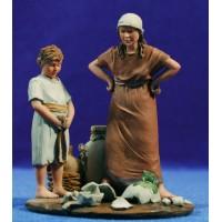 Niños 12 cm resina Montserrat Ribes