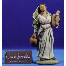 Pastora samaritana 15 cm resina Montserrat Ribes