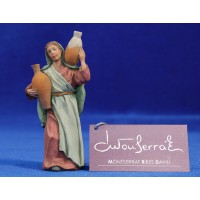 Pastora samaritana 9 cm resina Montserrat Ribes