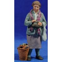 Abuela con bolso 16 cm resina Montserrat Ribes
