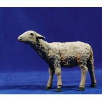 Cordero cabeza arriba 25 cm resina Montserrat Ribes