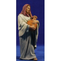 Pastora samaritana 20 cm resina Montserrat Ribes