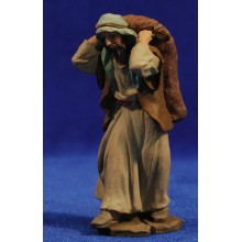 Pastor con saco 9 cm resina Montserrat Ribes