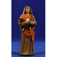 Pastora con cabra 15 cm resina Montserrat Ribes