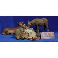 Nacimiento durmiendo 17 cm resina Montserrat Ribes